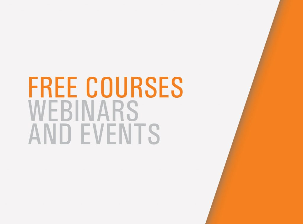 Free Courses Webinars and Events