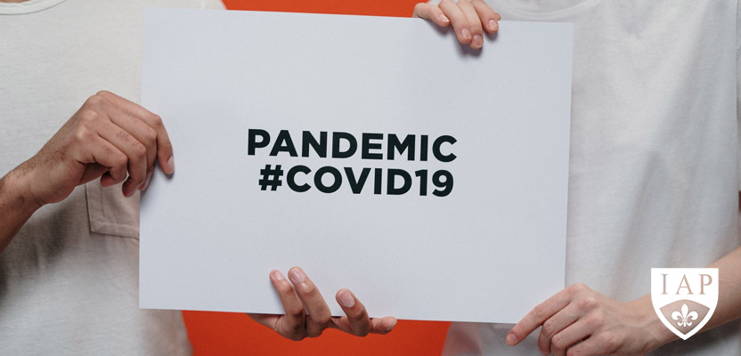 Five steps to manage the Pandemic Covid-19